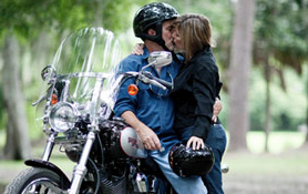 biker couples met in London